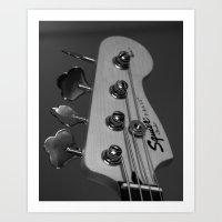 bass Art Prints featuring Bass by Elisa Camera