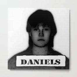 DANIELS Metal Print