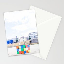 The Cube at Maroubra Beach Stationery Cards
