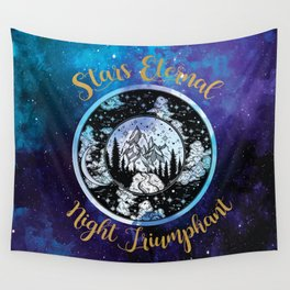A Court of Mist and Fury - Stars Eternal Night Triumphant Wall Tapestry