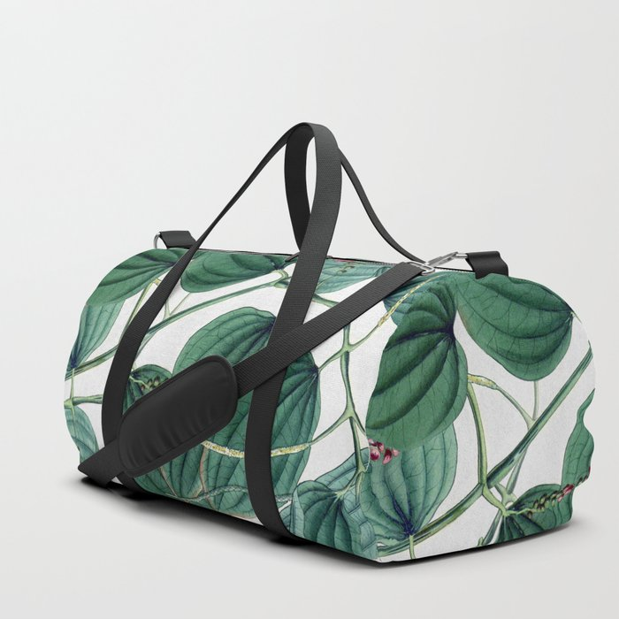 Green leaves I Duffle Bag
