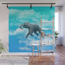 Into the elephant's dream Wall Mural