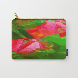 Pink Roses in Anzures 5  Abstract Polygons 1 Carry-All Pouch