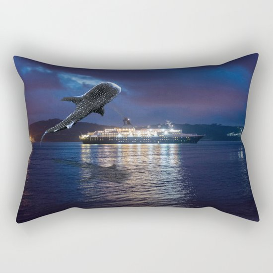 The Whale Lisbon Rectangular Pillow