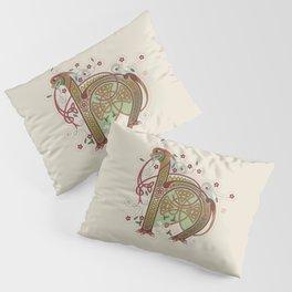 Celtic Initial H Pillow Sham