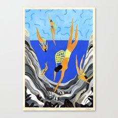 Pearl Divers I Canvas Print