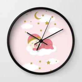 It's a girl Wall Clock