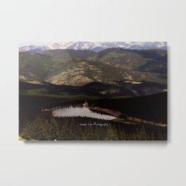 Mile High Lake Metal Print