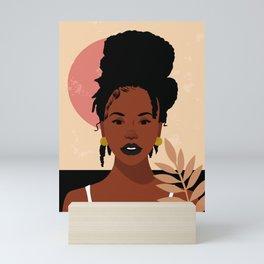 Locs Matter Mini Art Print