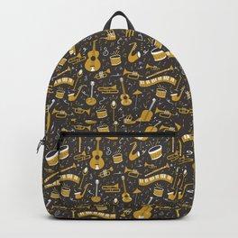 Spirit of Jazz in Grey Backpack
