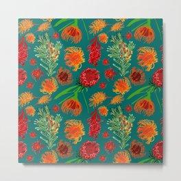 Beautiful Australian Native Floral Print Metal Print