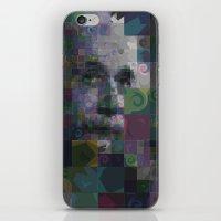 einstein iPhone & iPod Skins featuring Einstein by Artstiles