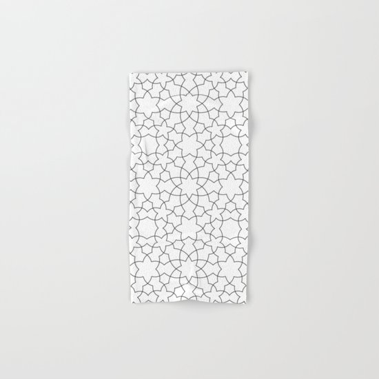 Minimalist Geometric 101 Hand & Bath Towel