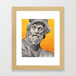 stone man Framed Art Print