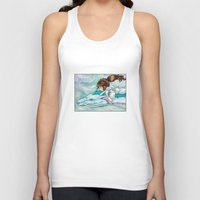 spirited away Tank Tops featuring Spirited Away by Kimberly Castello
