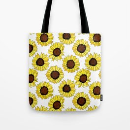 Sunflowers are the New Roses! - White Tote Bag
