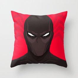 Symbiote Spider Throw Pillow