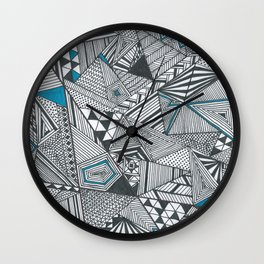 Geometric and triangular Wall Clock