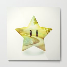 Super Star - Kart Art Metal Print