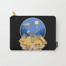 Alien Egyptian Pyramids Carry-All Pouch