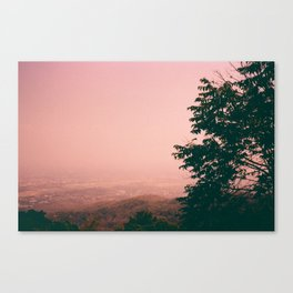 What will the sky be saying? Canvas Print