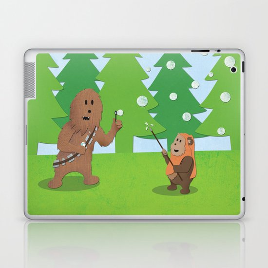 SW Kids - Chewie Bubbles Laptop & iPad Skin