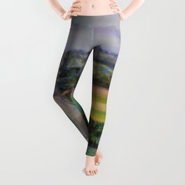 Country Road Across the Hills Leggings