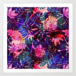 Motuu Tropical CMY Art Print