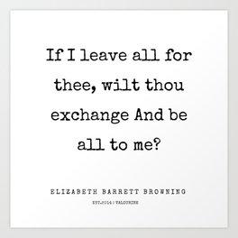 29    | 200210 | Elizabeth Barrett Browning Quotes Art Print