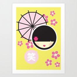KOKESHI Art Print