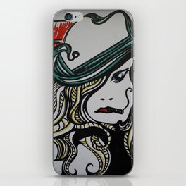 Sassy Woman w/ Cig iPhone Skin