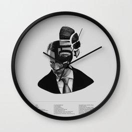 Hannibal Lecter Phrenology Wall Clock