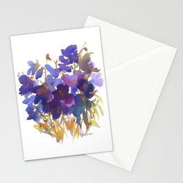 Petite Violets Stationery Cards