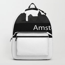 Amsterdam skyline Backpack