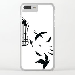 Free To Fly Clear iPhone Case
