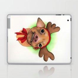 Chihuahua with antlers - Tuna Laptop & iPad Skin