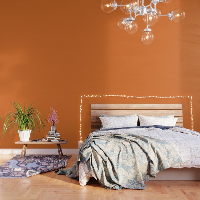 Russet Orange - Fashion Color Trend Fall/Winter 2018 Wallpaper