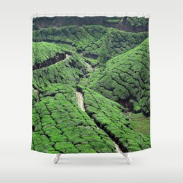 Tea Time 1 Shower Curtain