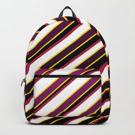 TEAM COLORS 1...Purple ,fade to black, gold red Backpack