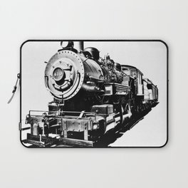 Photography Train black and White Laptop Sleeve