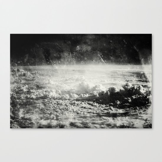 Somewhere Over The Clouds (I Canvas Print