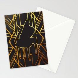 Art Deco Piano Stationery Cards