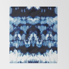 Tie-Dye Shibori Neue Throw Blanket