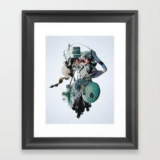 hourglass Framed Art Print