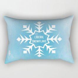 Liberal Snowflake Rectangular Pillow