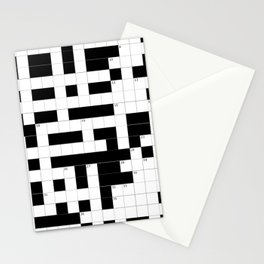 Crossword Puzzle Stationery Cards