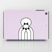 shih tzu iPad Cases featuring Pop Dog Shin-tzu by lllg
