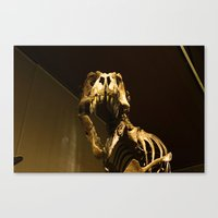 t rex Canvas Prints featuring T-Rex by Vito Fabrizio Brugnola