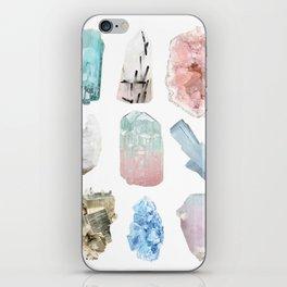 Crystals iPhone Skin