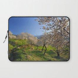 Flowering almond Laptop Sleeve